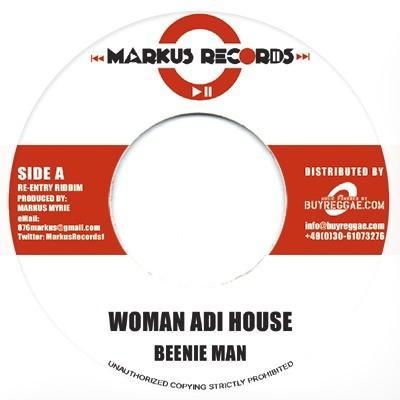 Beenie Man : Woman Adi House   Single / 7inch / 45T     Dancehall / Nu-roots
