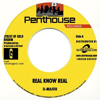 D Major : Real Know Real | Single / 7inch / 45T  |  Dancehall / Nu-roots