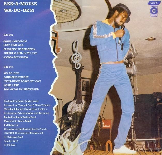 Eek A Mouse : Wa Do Dem | LP / 33T  |  Dancehall / Nu-roots