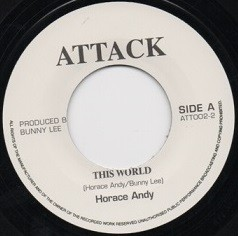 Horace Andy : This World | Single / 7inch / 45T  |  Oldies / Classics