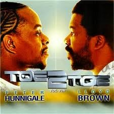 Peter Hunnigale & Lloyd Brown : Toe To Toe ( Vol.8 ) | LP / 33T  |  Dancehall / Nu-roots
