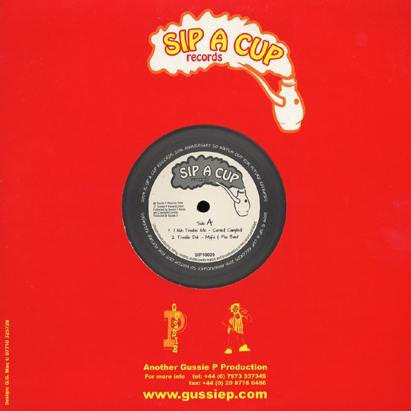 Cornell Campbell : I Nuh Trouble Me | Maxi / 10inch / 12inch  |  UK
