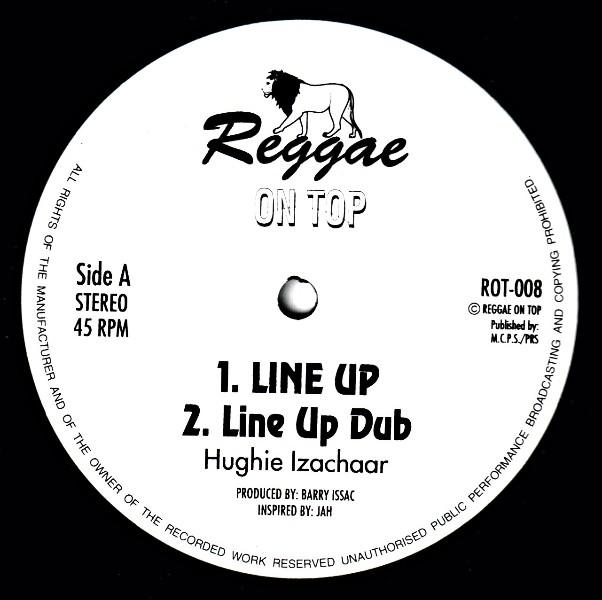 Hughie Izachaar : Line Up + Dub   Maxi / 10inch / 12inch     UK
