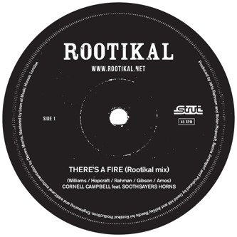Cornell Campbell : There's A Fire | Single / 7inch / 45T  |  Oldies / Classics