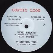 Big Youth : Give Thanks + Dub   Maxi / 10inch / 12inch     UK