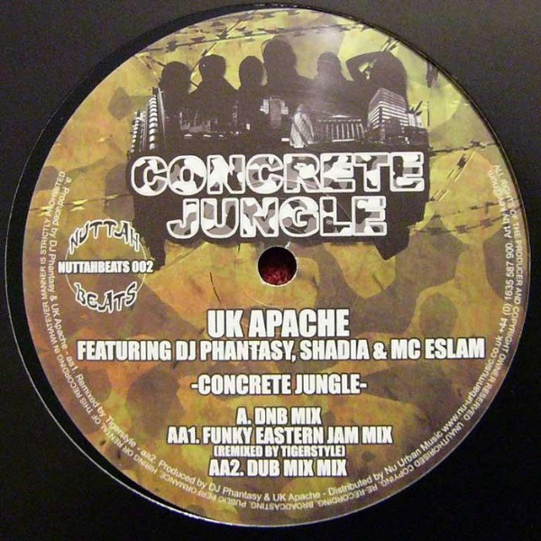 Uk Apache Feat.dj Phantasy , Shadia & Mc Esclam : Concrete Jungle