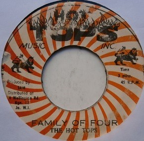 The Hot Tops : Family Of Four   Collector / Original press     Collectors