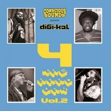 Various : Conscious Sounds Presents Digi-kal 4 The Hard Way Vol. 2 | LP / 33T  |  UK