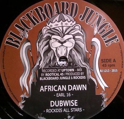 Earl 16 : African Dawn ( Brown ) | Maxi / 10inch / 12inch  |  UK