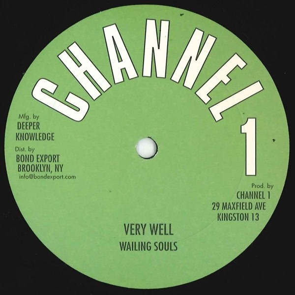 Wailing Souls : Very Well   Maxi / 10inch / 12inch     Oldies / Classics