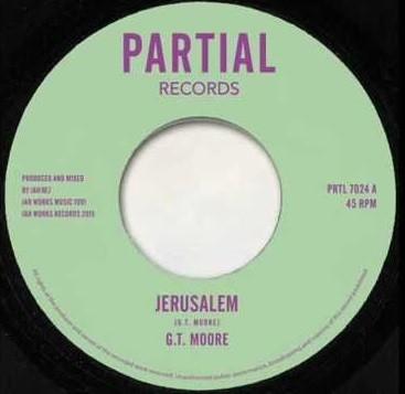 G.t Moore : Jerusalem   Single / 7inch / 45T     UK