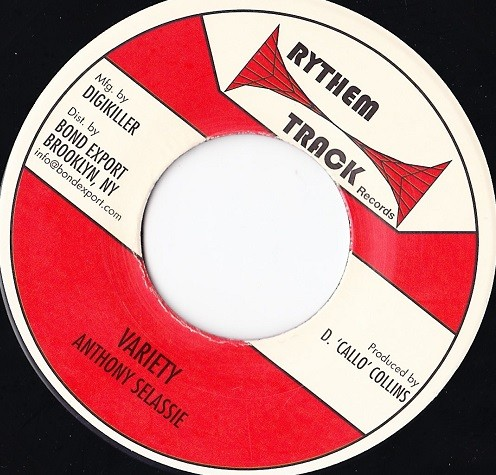 Anthony Selassie : Variety   Single / 7inch / 45T     Oldies / Classics