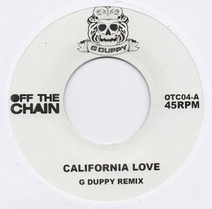 G Dupy Remix : California Love   Single / 7inch / 45T     Mash Ups / Remixs
