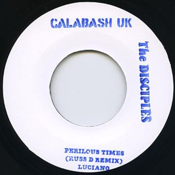 Luciano : Perilous Time ( Russ D Remix ) | Single / 7inch / 45T  |  UK