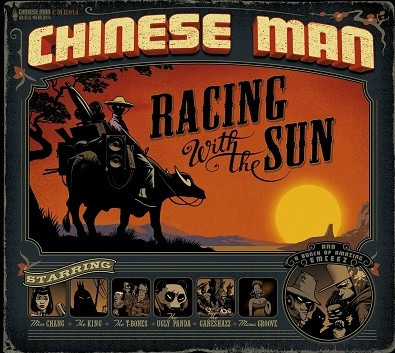 Chinese Man : Racing With The Sun | CD  |  Mash Ups / Remixs