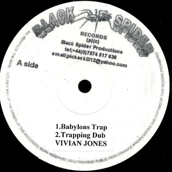 Vivian Jones : Babylon Trap | Maxi / 10inch / 12inch  |  UK