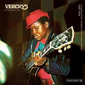 Verckys Et L´Orchestre Vévé : Congolese Funk, Afrobeat & Psychedelic Rumba 1969-1978   LP / 33T     Afro / Funk / Latin