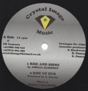 Amelia Harmony : Rise And Shine   Maxi / 10inch / 12inch     UK