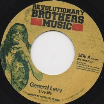 General Levy : Live Life | Single / 7inch / 45T  |  Dancehall / Nu-roots