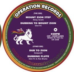 Ricky Grant : Mount Zion Step   Maxi / 10inch / 12inch     UK