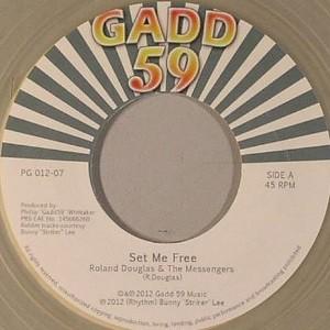 Roland Douglas & The Messengers : Set Me Free   Single / 7inch / 45T     Oldies / Classics