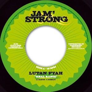 Lutan Fyah : Real Rasta | Single / 7inch / 45T  |  Dancehall / Nu-roots