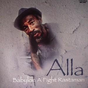 Alla : Babylon A Fight Rastaman   LP / 33T     UK