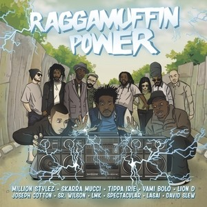 Various : Raggamuffin Power | LP / 33T  |  Dancehall / Nu-roots