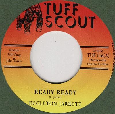 Ecclecton Jarrett : Ready Ready   Single / 7inch / 45T     Dancehall / Nu-roots