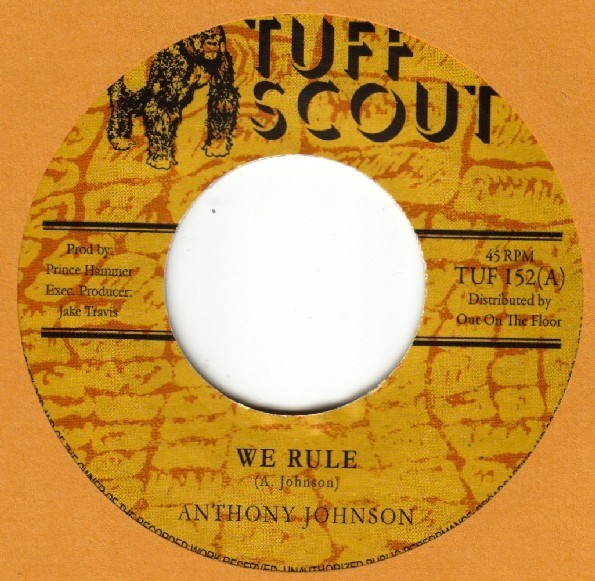 Anthony Johnson : We Rule   Single / 7inch / 45T     Dancehall / Nu-roots