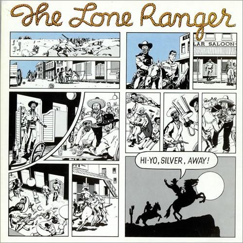 Lone Ranger : Hi Yo Silver Away   LP / 33T     Oldies / Classics