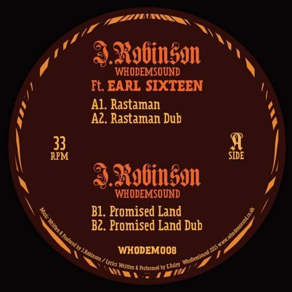 Earl Sixteen : Rastaman   Maxi / 10inch / 12inch     UK