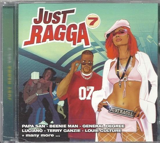 Various : Just Ragga Vol. 7 | CD  |  Dancehall / Nu-roots