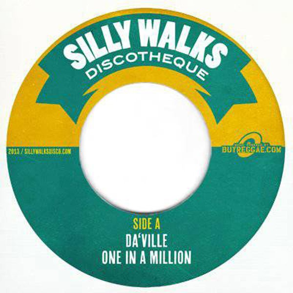 Daville : One In A Million | Single / 7inch / 45T  |  Dancehall / Nu-roots