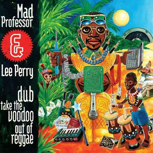 Mad Professor &  Lee PerrY : Dub Take The Voodoo Out Of Reggae | LP / 33T  |  UK