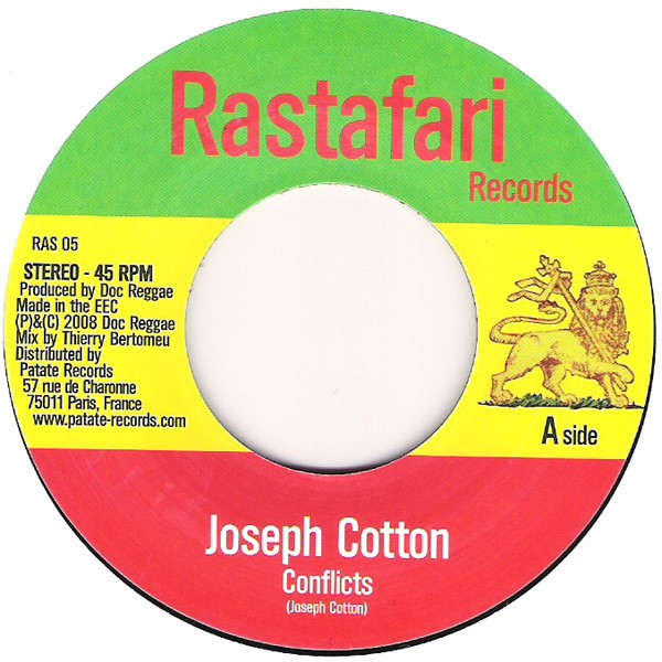 Joseph Cotton : Conflicts | Single / 7inch / 45T  |  Dancehall / Nu-roots
