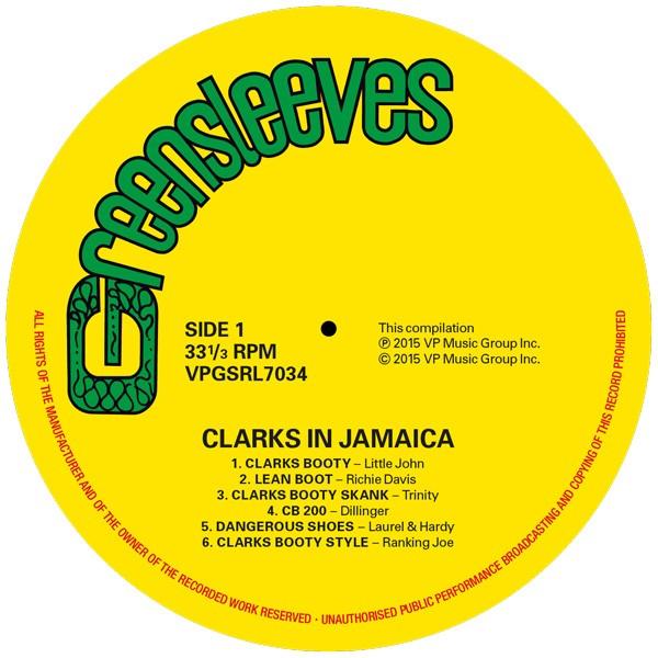 Various : Clarks In Jamaica | LP / 33T  |  Dancehall / Nu-roots