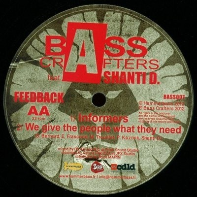 Bass Crafters Ft. Shanty D : Education | Maxi / 10inch / 12inch  |  UK