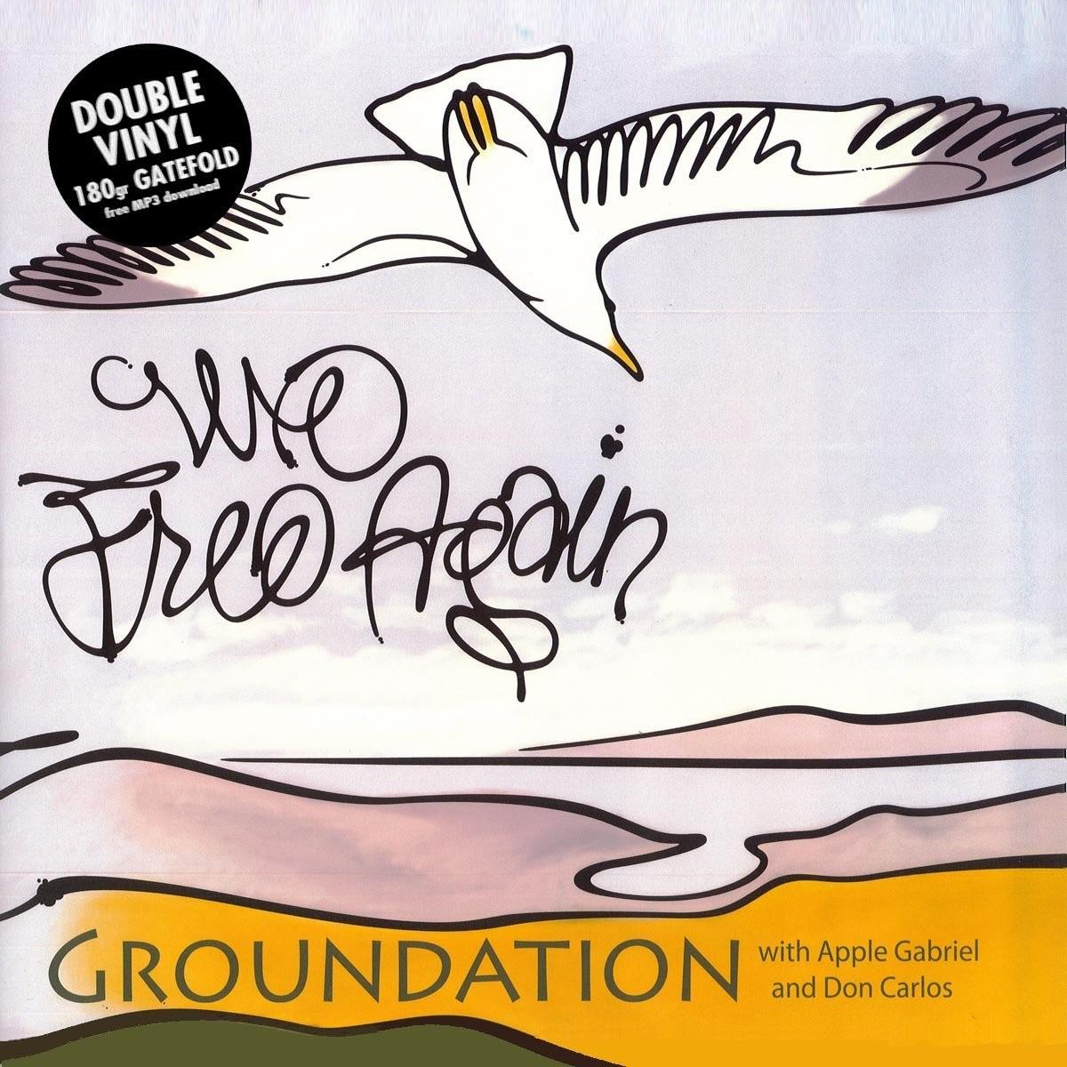 Groundation Ft Apple Gabriel & Don Carlos : We Free Again | LP / 33T  |  Dancehall / Nu-roots