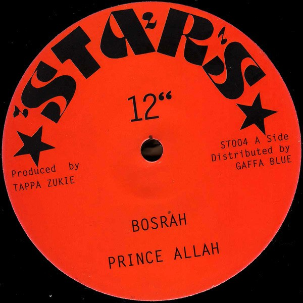 Prince Allah : Bosrah | Maxi / 10inch / 12inch  |  Oldies / Classics