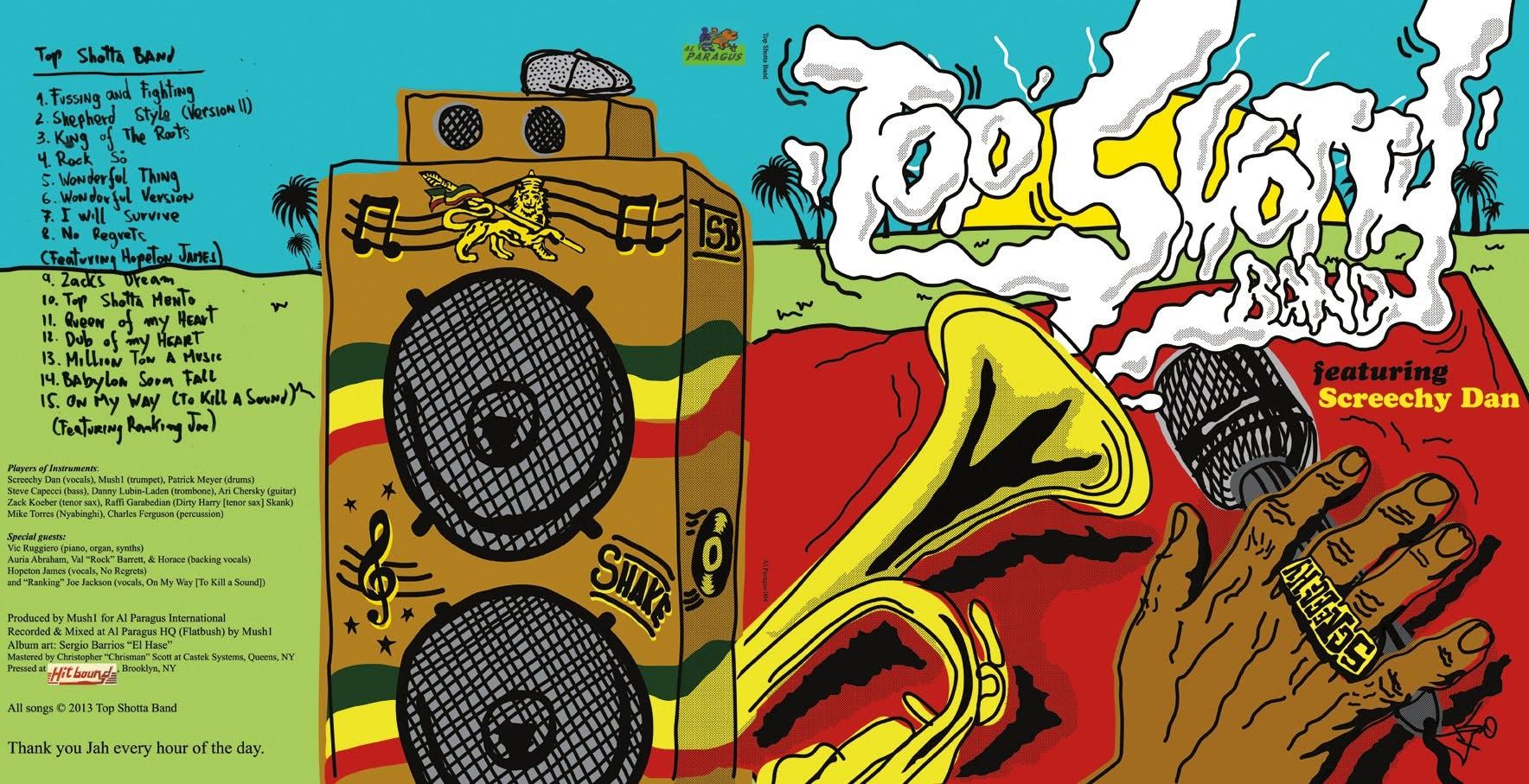 Top Shota Band : Featuring Screechy Dan | LP / 33T  |  Dancehall / Nu-roots