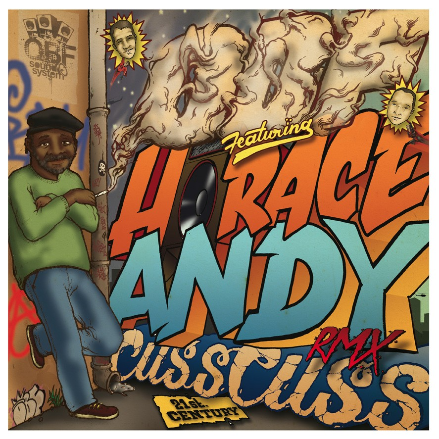 Obf Ft. Horace Andy : Cuss Cuss 2015 | Maxi / 10inch / 12inch  |  UK