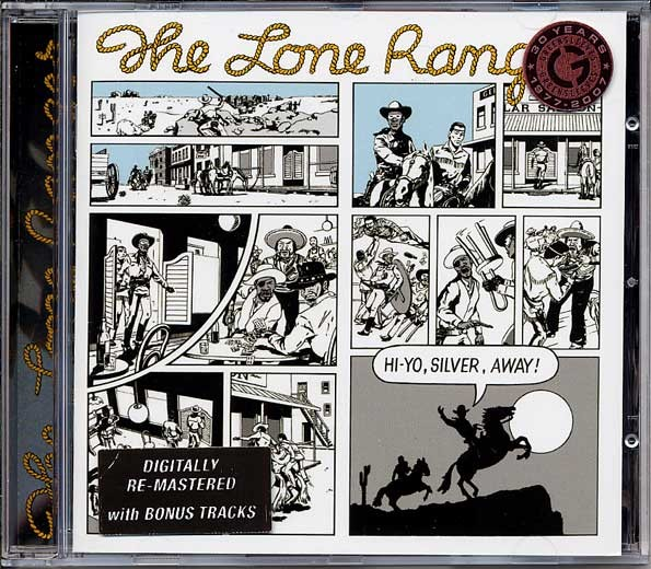The Lone Ranger : Hi-Yo Silver Away   CD     Oldies / Classics