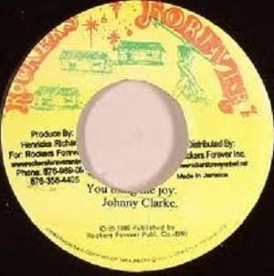 Johnny Clarke : You Bring Me Joy | Single / 7inch / 45T  |  Oldies / Classics