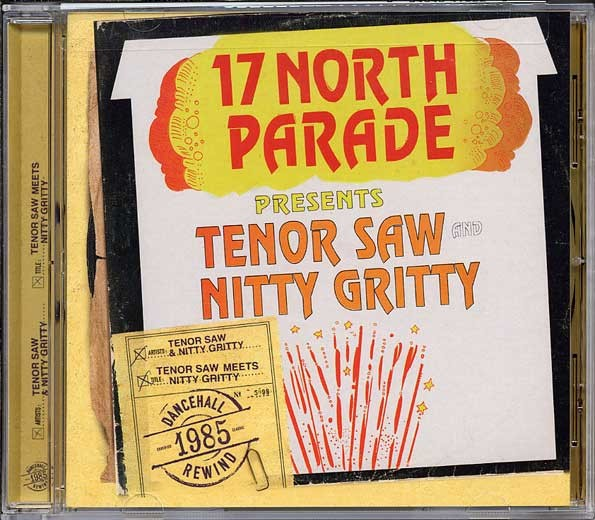 Tenor Saw  Nitty Gritty : Tenor Saw Meets Nitty Gritty   CD     Oldies / Classics