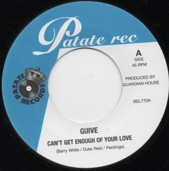 Guive : Can't Get Enough Of Your Love