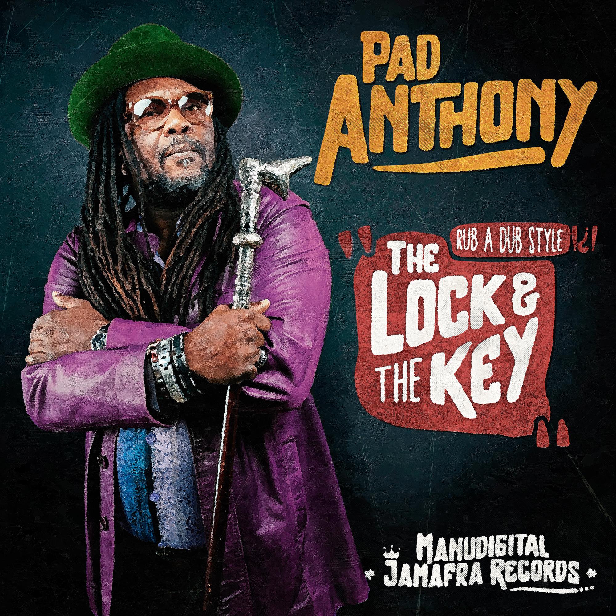 Pad Anthony : The Lock And The Key   Maxi / 10inch / 12inch     Dancehall / Nu-roots