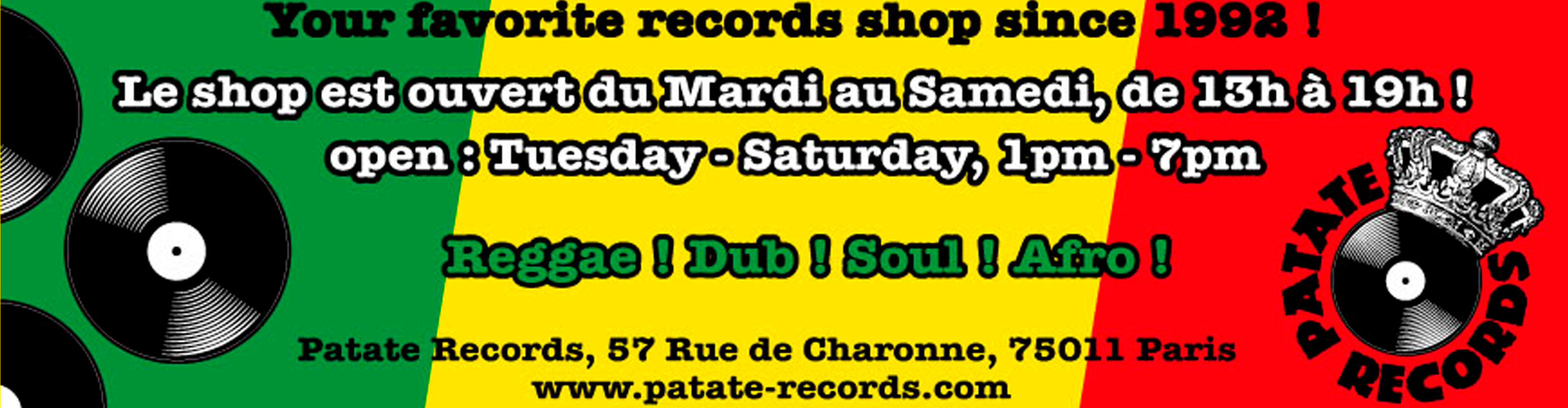 Patate Records Shop