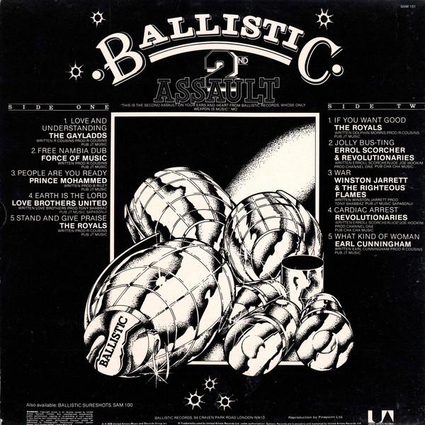 Various : Ballistic 2nd Assault | LP / 33T  |  Oldies / Classics