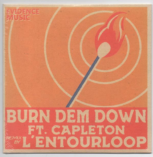 L'entourLoOp Ft. Capleton : Burn Dem Down | Single / 7inch / 45T  |  Dancehall / Nu-roots